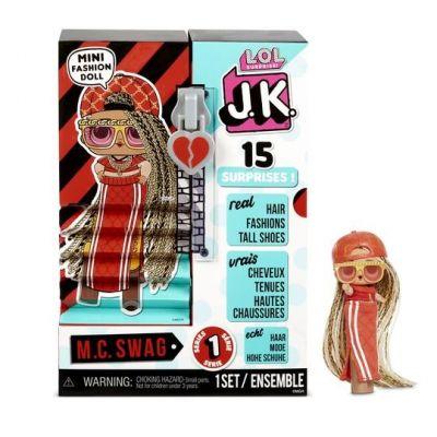 L.O.L. Surprise! JK MC Swag Mini Fashion Doll