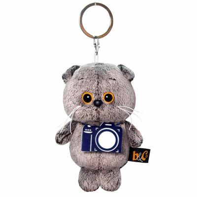 Trinket Key ring Basik with a photo camera