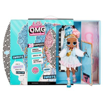 L.O.L. Surprise! O.M.G. Sweets Fashion Doll Series 4 Doll with 20 Surprises