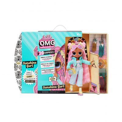 L.O.L. Surprise! O.M.G. Sunshine Fashion Doll - Dress Up Doll Set with 20 Surprises
