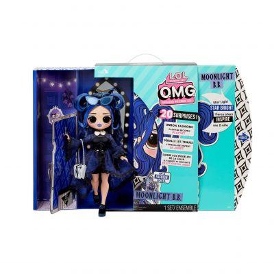 L.O.L. Surprise! O.M.G. Moonlight B.B. Fashion Doll - Dress Up Doll Set with 20 Surprises