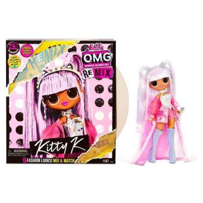 L.O.L. Surprise! O.M.G. Remix Kitty K Fashion Doll - 25 Surprises with Music