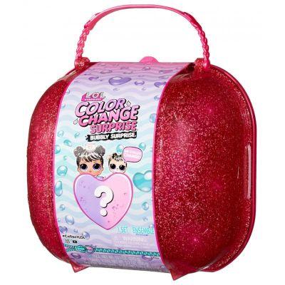 L.O.L. Surprise! Color Change Bubbly Surprise Pink with Exclusive Doll & Pet