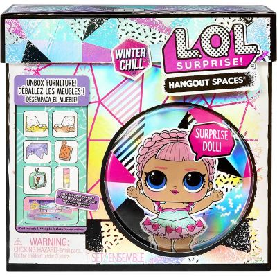 L.O.L. Surprise! Winter Chill Hangout Spaces Ice Sk8ter