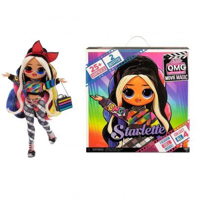 L.O.L. Surprise! OMG Movie Magic Starlette Fashion Doll with 25 Surprises