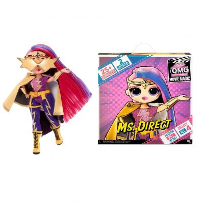 L.O.L. Surprise! OMG Movie Magic Ms. Direct Fashion Doll with 25 Surprises